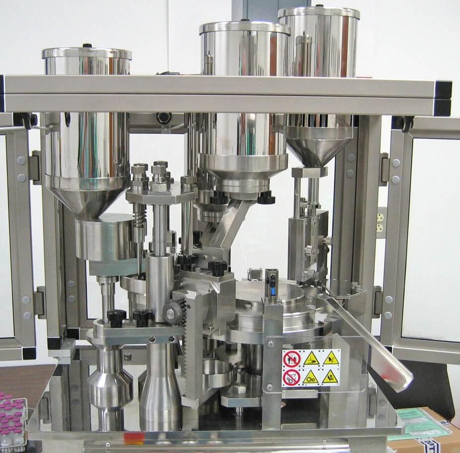 Encapsuladora automática de sobremesa IN-CAP