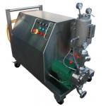 """La última tecnología de un Homogeneizador-mezclador-patentado; para incorporar productos """"difíciles"""" en un proceso líquido, como en emulsiones; suspensiones; geles;"""