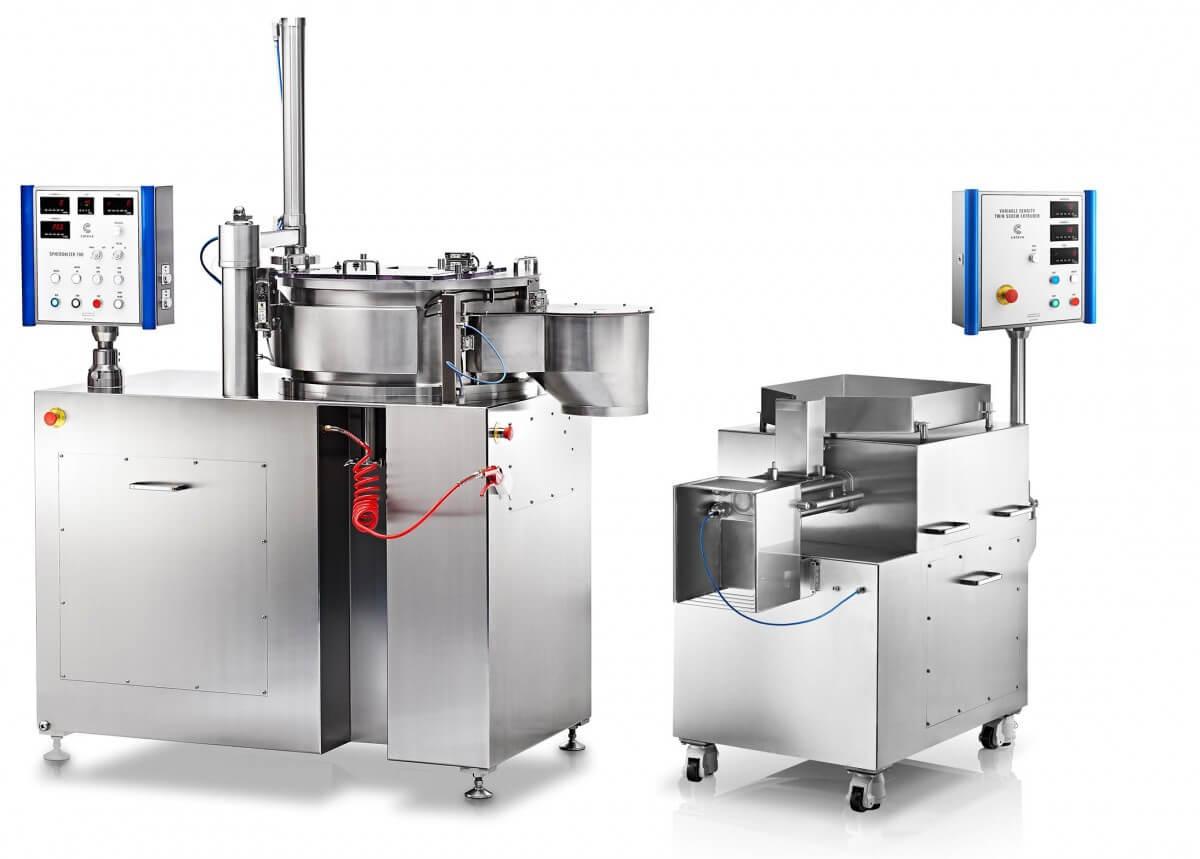 Maquinas para: microesferas-pellets;