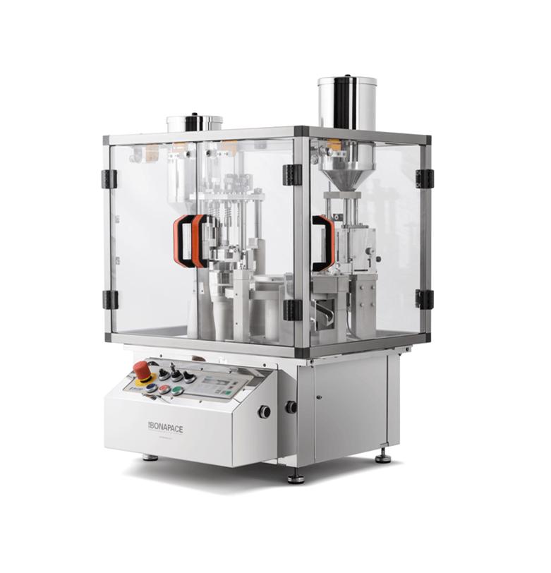 Encapsuladora automática de mesa IN-CAP para polvo, liquido, tabletas, pellets y combinados