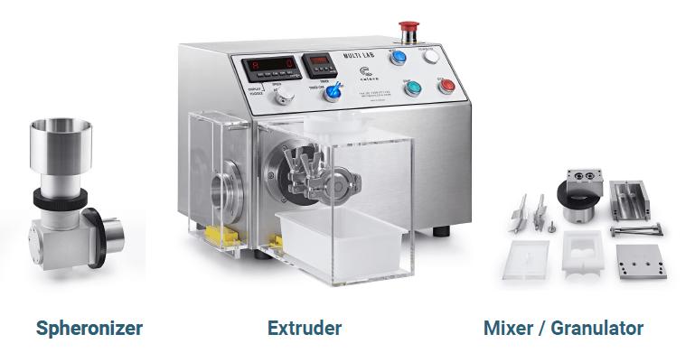 maquinas para todo tipo de microesferas-pellets