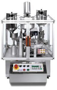 Encapsuladora automática de mesa IN-CAP para polvo, pellets, liquido, tabletas, cápsulas y combinados.