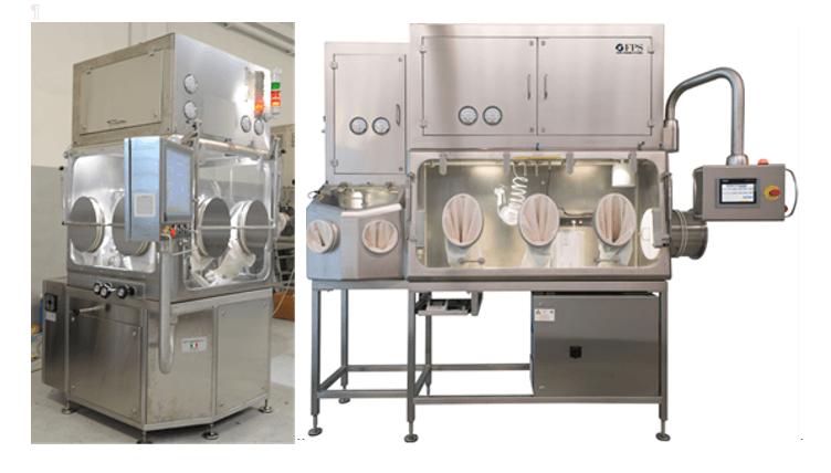 Encapsuladora automática IN-CAP con segundo Aislador para IPC In Process Control