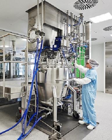 Reactores-tanques de proceso; para Fabricación de productos quimioterapéuticos