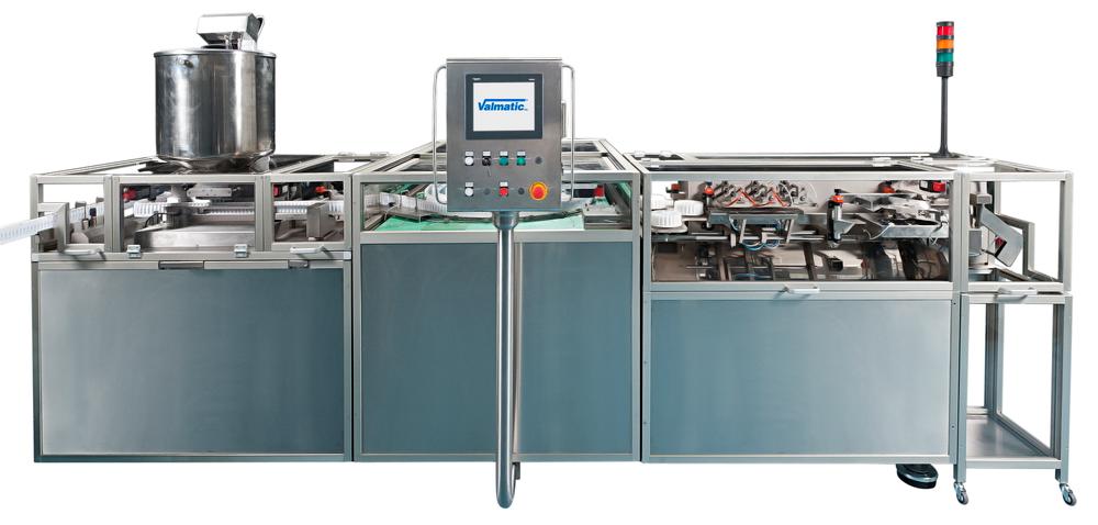 supositorios y óvulos y contenedores termoformadosFILLING COOLING SEALING machine:    FS 140